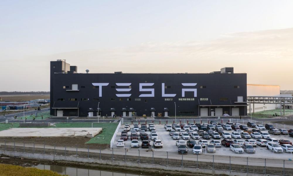 Tesla China plant