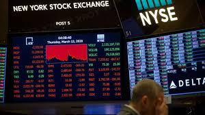 Dow dives nearly 3,000 points on fears coronavirus will cause recession