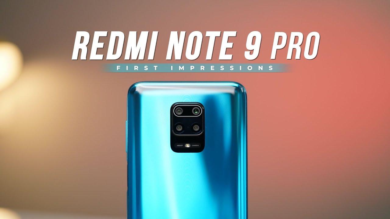 Redmi Note 9 Pro First Impressions
