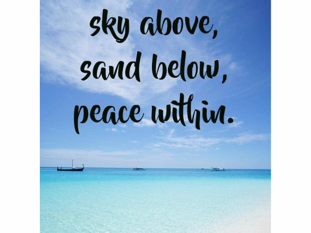 Beach Quotes for Insta summer pics