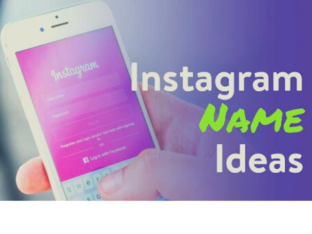 Best Instagram Name Ideas