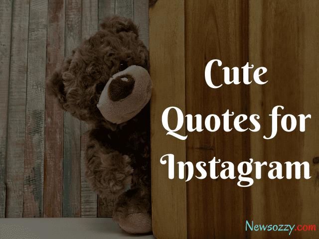 Cute Quotes for Insta Pics
