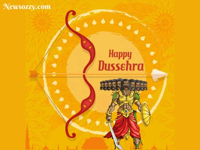 WhatsApp status images for Dussehra festival
