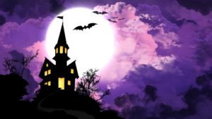 spooky halloween hd background images