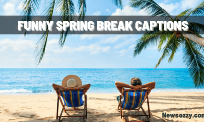 Funny captions for spring break pics