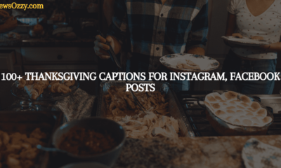 Thanksgiving captions for instagram