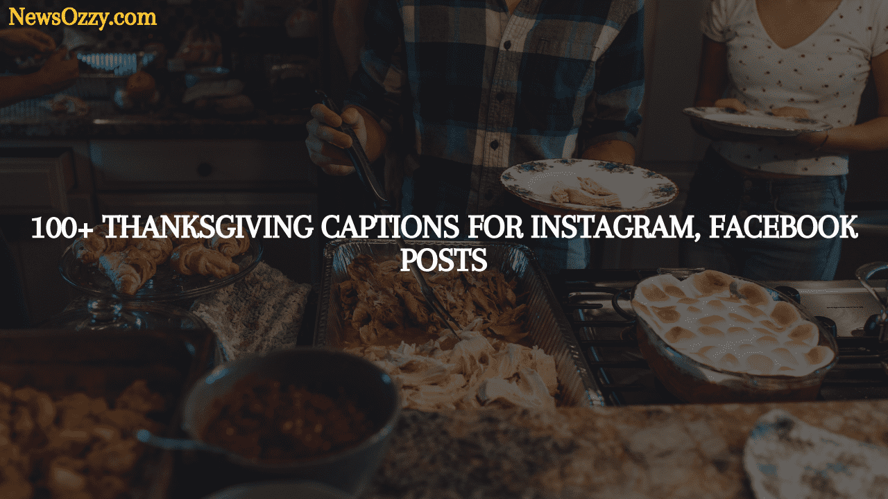Thanksgiving captions for instagram