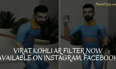 virat kohli ar effect filter on Instagram and facebook