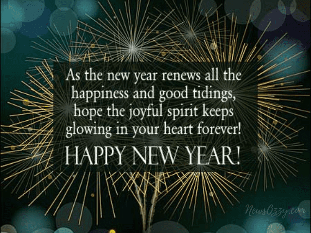 Happy New year status images with inspiring quotes