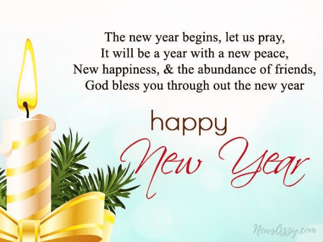cute new year wishes for family members image