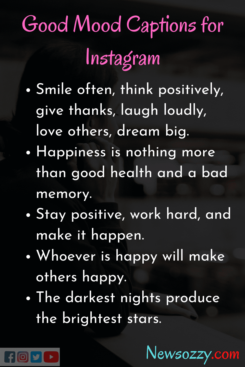 Top 50 Mood Quotes And Captions For Instagram Good Mood Sayings