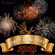 happy new year 2021 WhatsApp profile picture