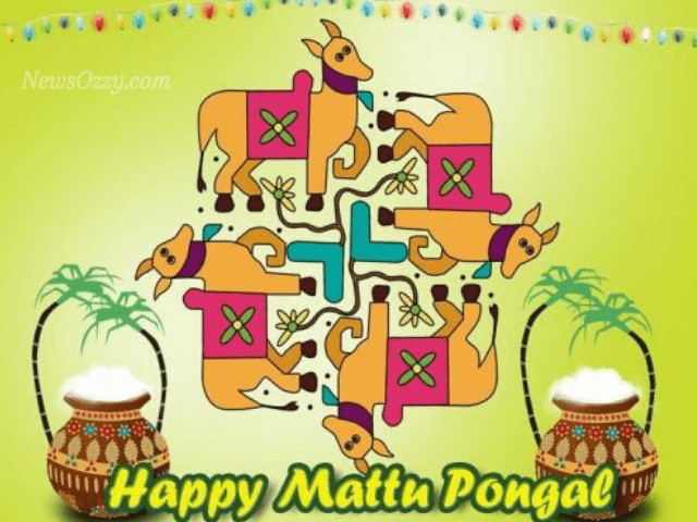 happy mattu Pongal images in tamil