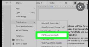 Google Docs website