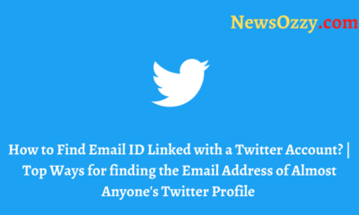 Find Email ID Associated with a Twitter Account