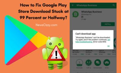 Google Play Store Download Stuck