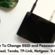 How To Change SSID and Password on Digisol, Tenda, TP-Link, Netgear, D-Link