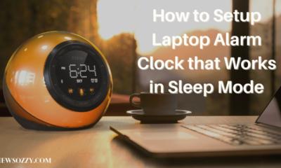 Laptop Alarm Clock that Works in Sleep Mode