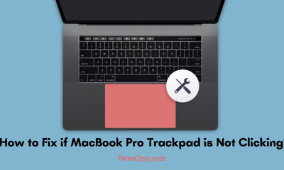 MacBook Pro Trackpad is Not Clicking
