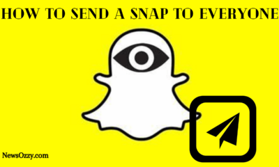 Send A Snap To Everyone