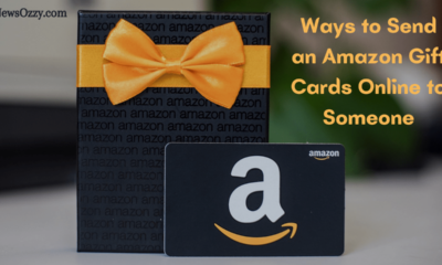 Send an Amazon Gift Cards Online