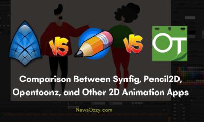 Synfig Pencil2d Opentoonz 2d Animation