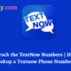 Who is behind the Textnow Number Textnow Lookup