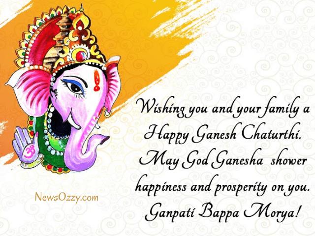 happy ganeshotsav 2021 wishes in english