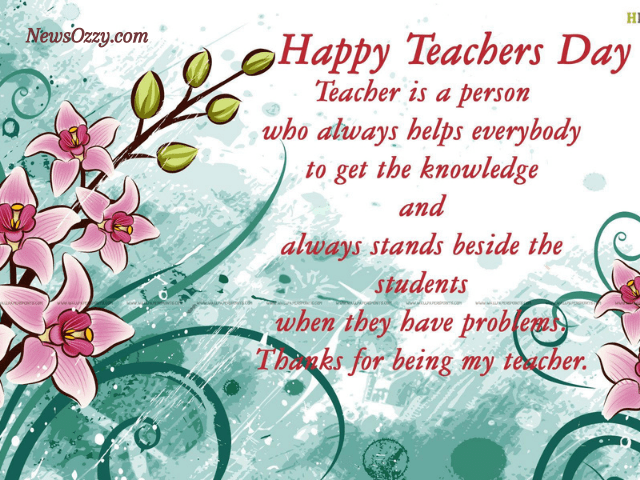 happy teachers day quote images