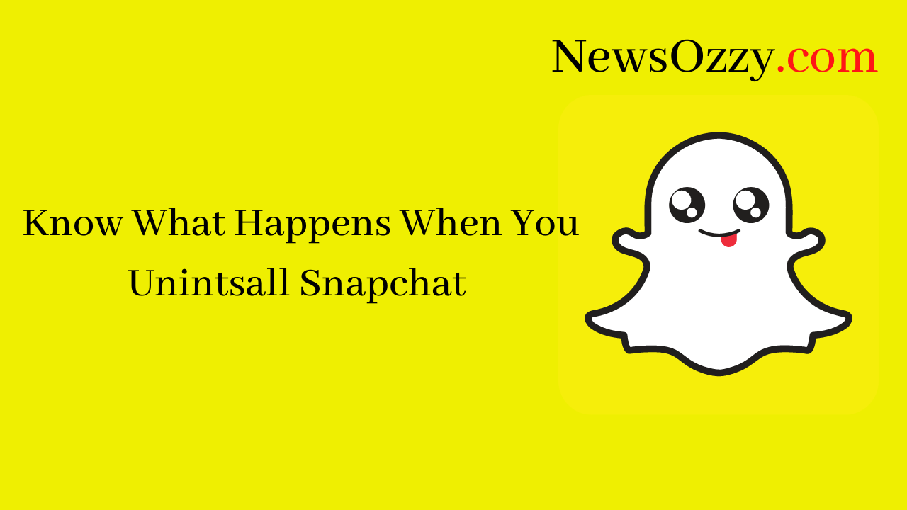What Happens After Uninstalling Snapchat