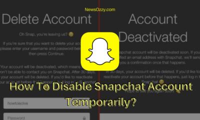 Disable Snapchat Account Temporarily