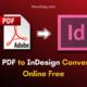 Full PDF to InDesign Converter Online Free