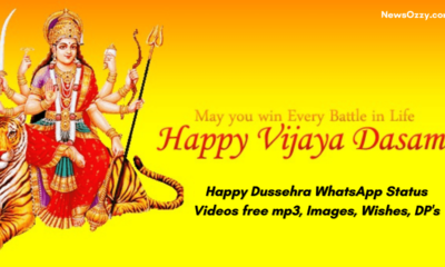 Happy Dussehra WhatsApp Status Videos free mp3, Images, Wishes, DP's