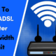 How To PLDT ADSL Router Bandwidth Limit