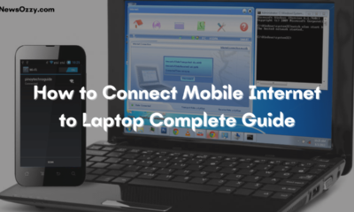 How to Connect Mobile Internet to Laptop Complete Guide