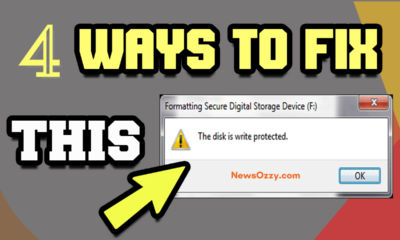Remove Write Protection SD Card