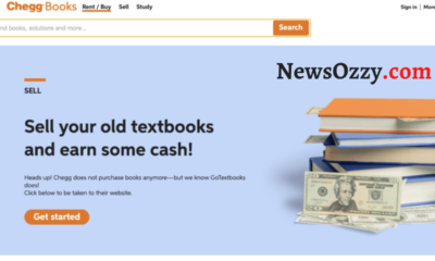 Sell Old Textbooks on Chegg