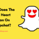 What Does The Red Heart Mean On Snapchat