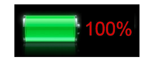 charge your battery fully