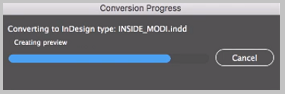 conversion processing page