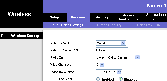 for linksys