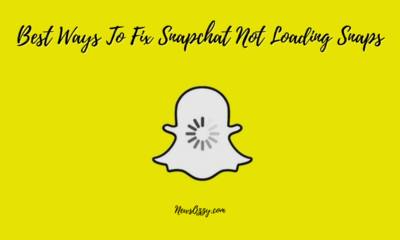 how to Fix Snapchat Not Loading Snaps
