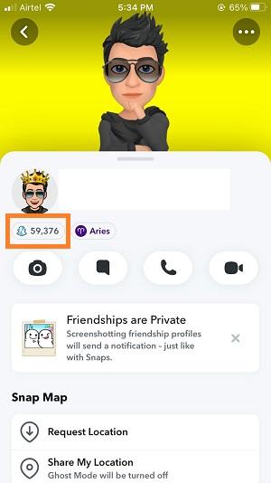 snapchat active