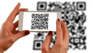 take screenshot of the QR code